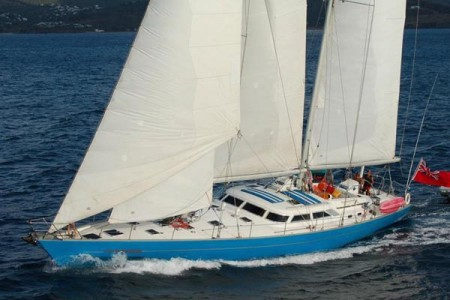 The 80ft Sailing Yacht TABOO announces lower summer charter rates and many recent upgrades