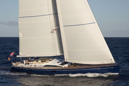 The Swan 82 PTARMIGAN heads to the West Med for the summer