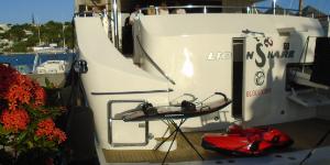 130ft Heesen motor yacht with scuba diving