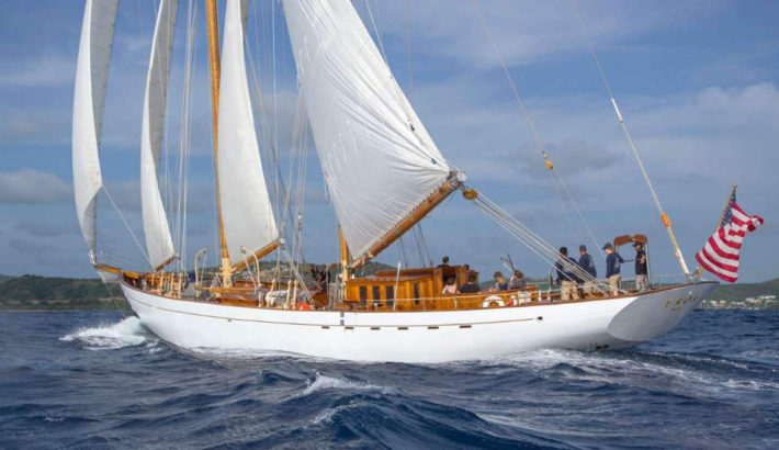 A Yacht of the Month – Classic Schooner EROS